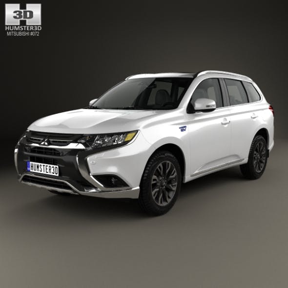 Mitsubishi Outlander PHEV 2015 - 3DOcean Item for Sale
