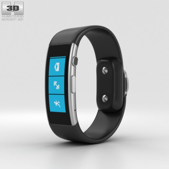 Microsoft Band - 3DOcean Item for Sale
