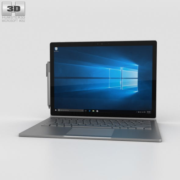 Microsoft Surface Book - 3DOcean Item for Sale