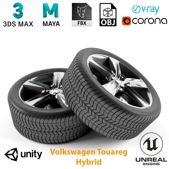 Volkswagen Touareg Hybrid Wheel - 3DOcean Item for Sale