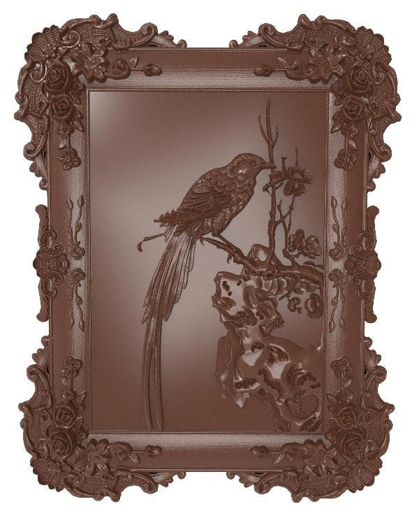 Bird bas relief for CNC - 3DOcean Item for Sale