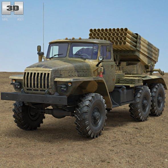 BM-21 Grad - 3DOcean Item for Sale