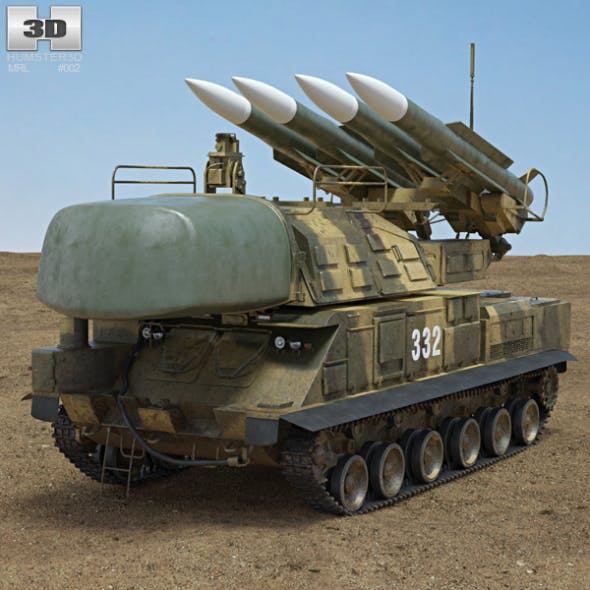 Buk M1 missile system - 3DOcean Item for Sale