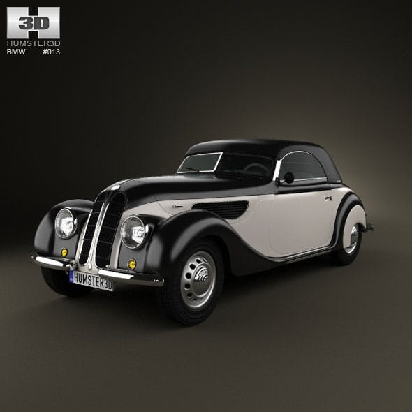 BMW 327 cabriolet 1937 - 3DOcean Item for Sale