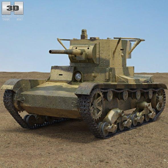 T-26 - 3DOcean Item for Sale