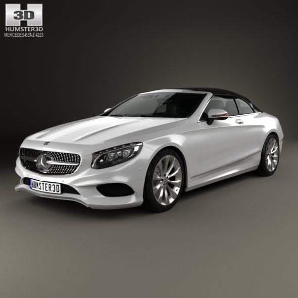 Mercedes-Benz S-class cabriolet 2014 - 3DOcean Item for Sale