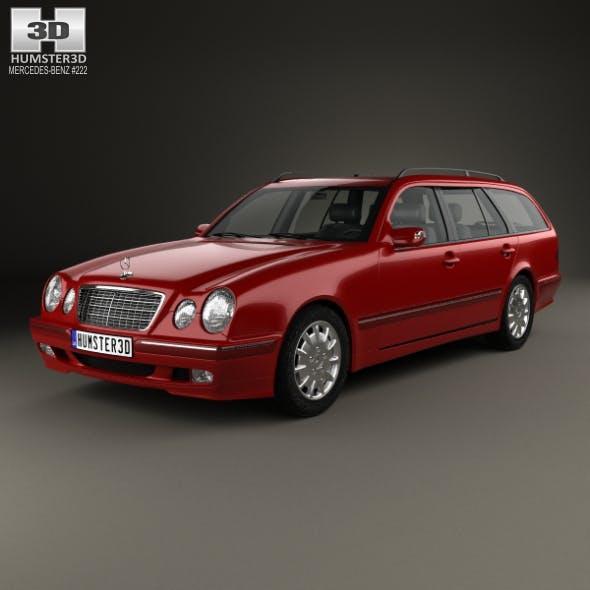 Mercedes-Benz E-class wagon 1999 - 3DOcean Item for Sale
