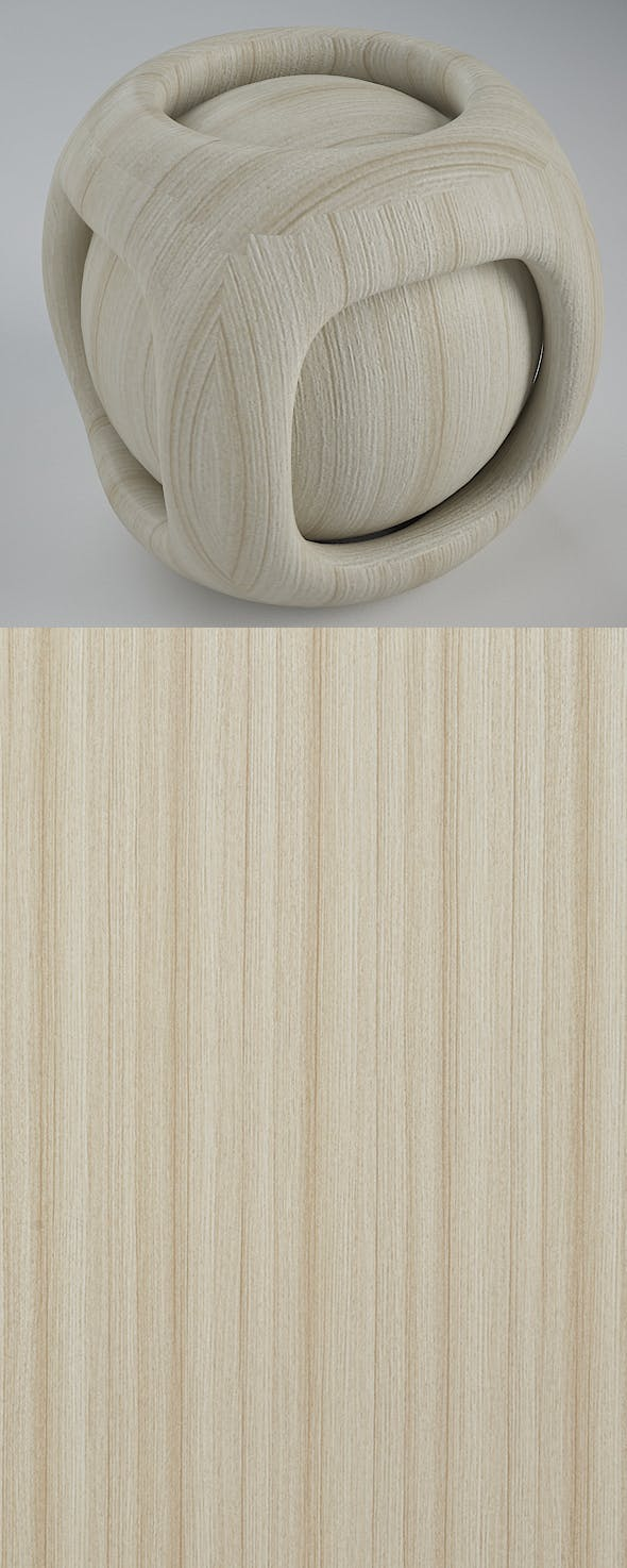 Real Plywood Vray Material Pure Teak - 3DOcean Item for Sale