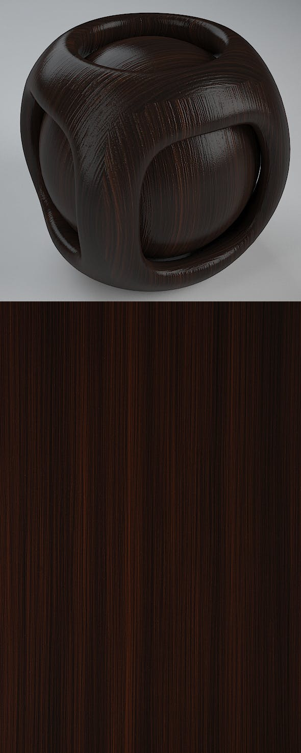 Real Plywood Vray Material Brown Cascade - 3DOcean Item for Sale