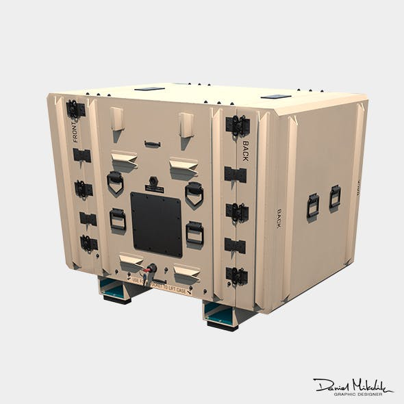 Military Shipment Case PBR - 3DOcean Item for Sale