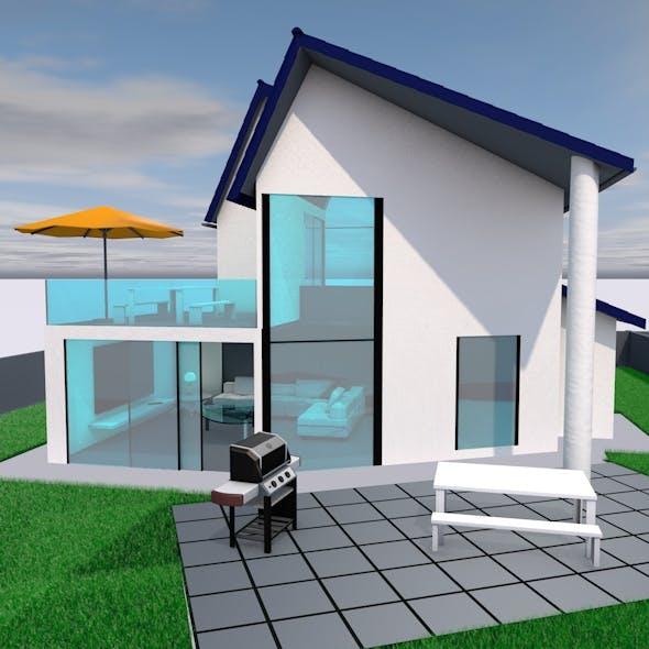 Villa (House) - 3DOcean Item for Sale
