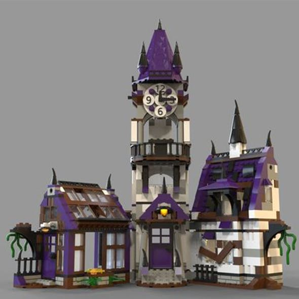 Lego House fantasy - 3DOcean Item for Sale