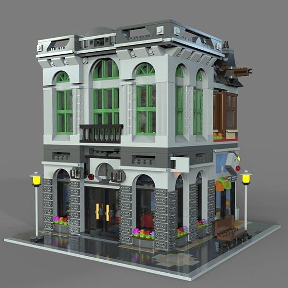 Lego bank - 3DOcean Item for Sale