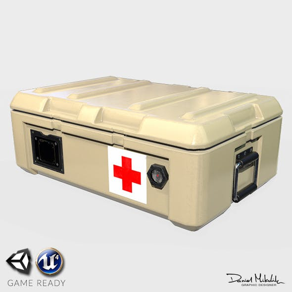 Medic Case PBR - 3DOcean Item for Sale