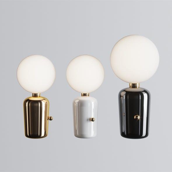 Parachilna Aballs M Gr Table Lamp - 3DOcean Item for Sale