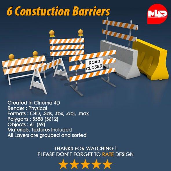 6 Construction Barrier