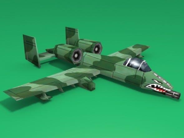 A-10 Thunderbolt II - 3DOcean Item for Sale