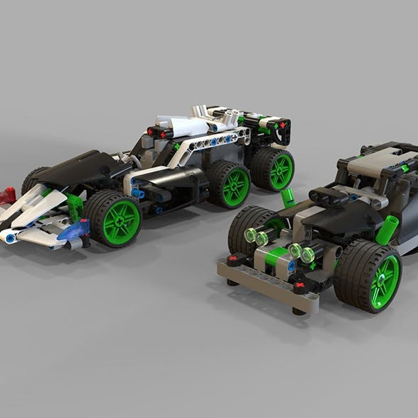 Lego Cars racing