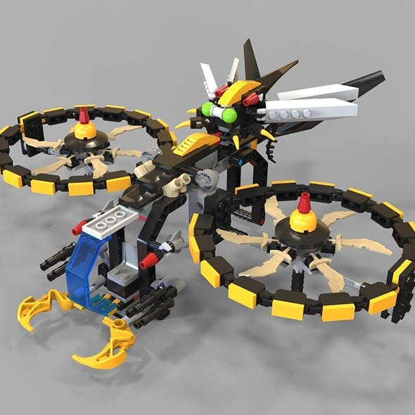 Lego Copter game