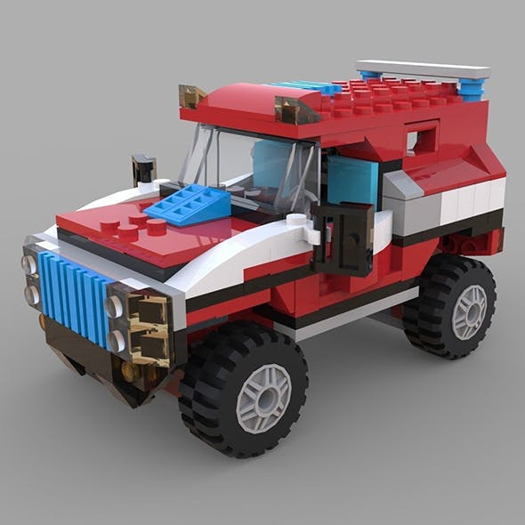Lego jeep game