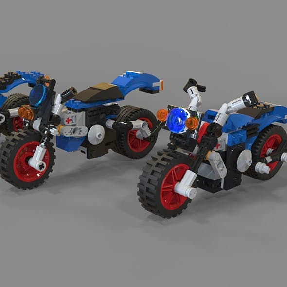 Lego Motorcycles pack