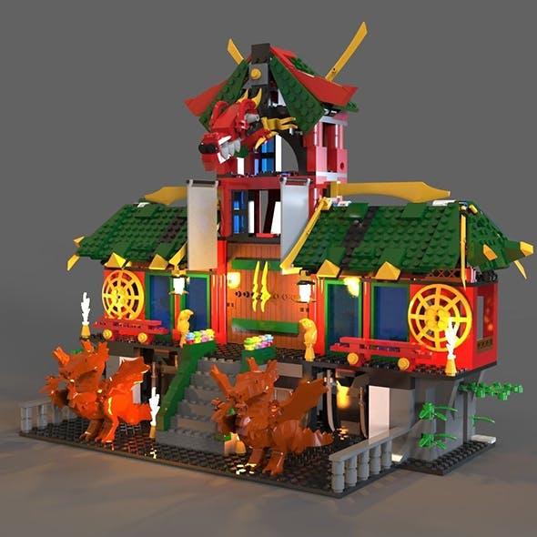 Lego ninja refuge