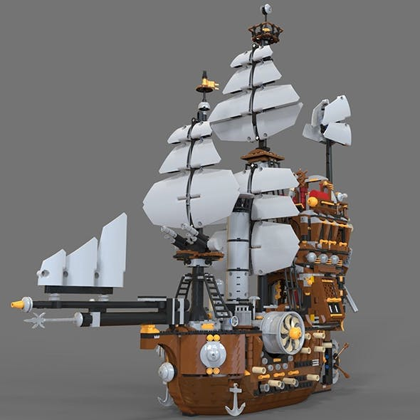Lego ship air
