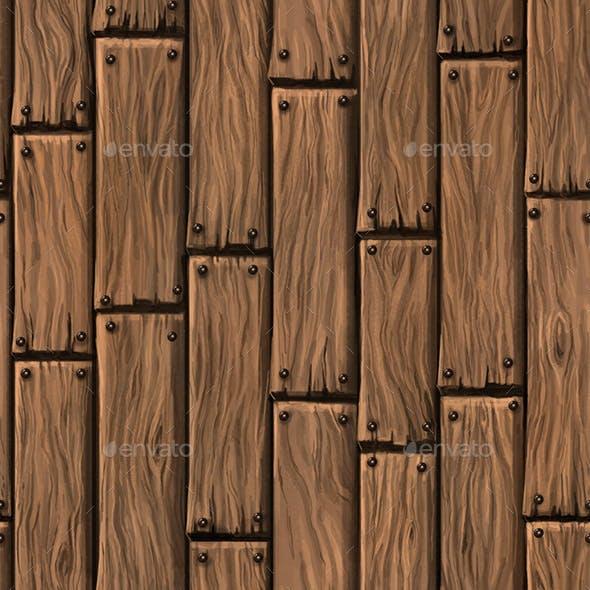 Wood Floor Hand Painted Texture