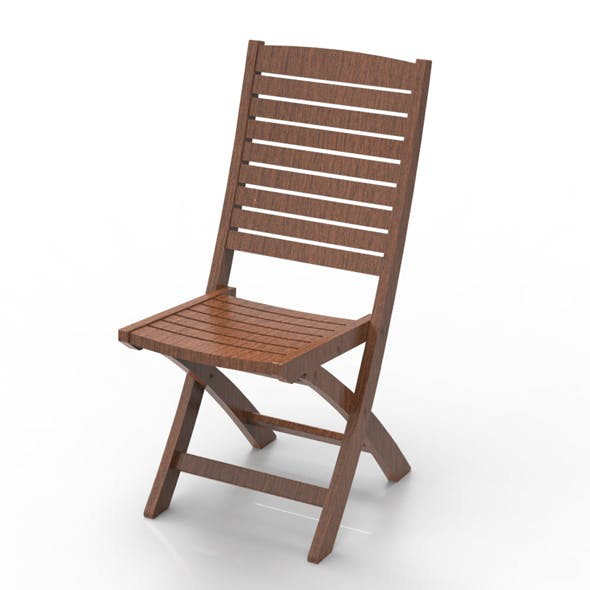 folding chair series 1 - 3DOcean Item for Sale