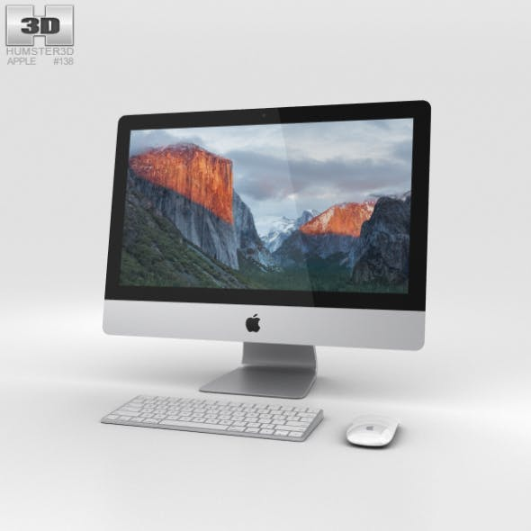 Apple iMac 21.5-inch - 3DOcean Item for Sale