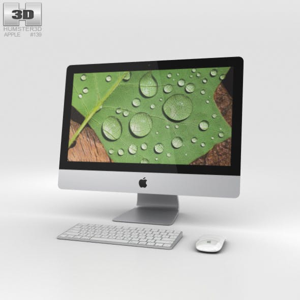 Apple iMac 21.5-inch Retina 4K - 3DOcean Item for Sale