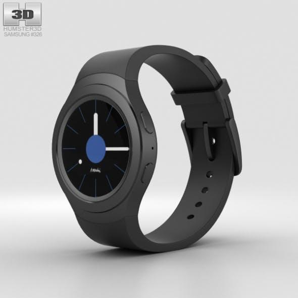 Samsung Gear S2 Black - 3DOcean Item for Sale
