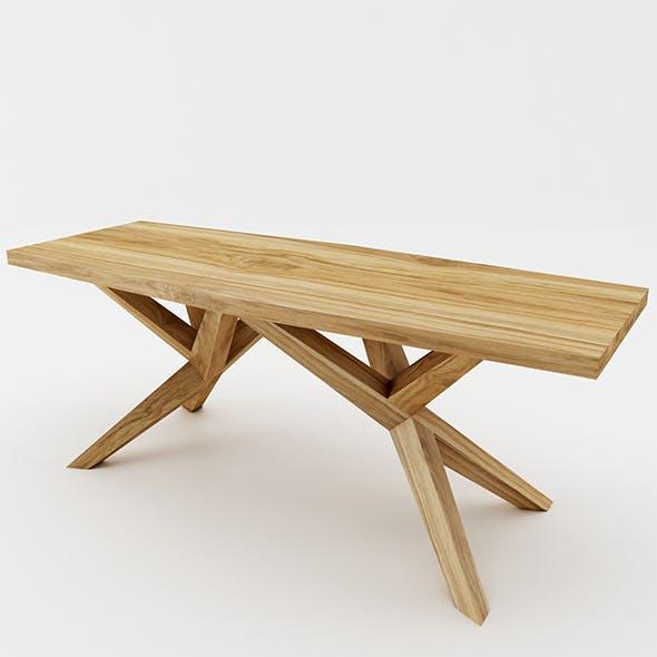 Diamond Dining Table - 3DOcean Item for Sale