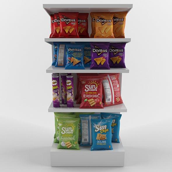 Chips set - 3DOcean Item for Sale