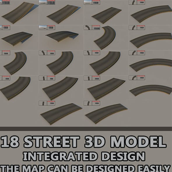 18 Street road - integrated design