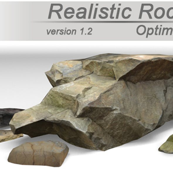 Realistic Rocks Pack
