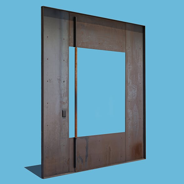 Square Metal Door
