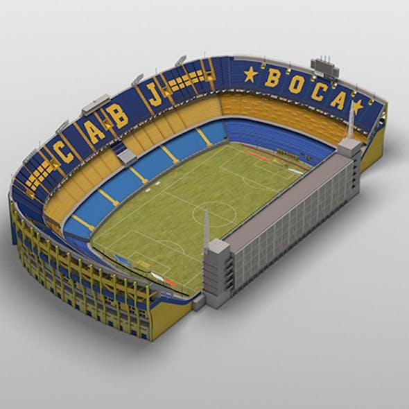 Lowpoly Boca Juniors Stadium (Bombonera)