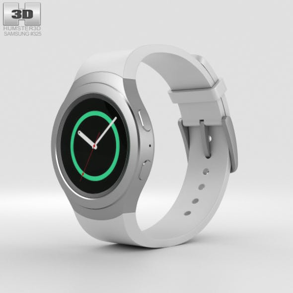 Samsung Gear S2 White - 3DOcean Item for Sale