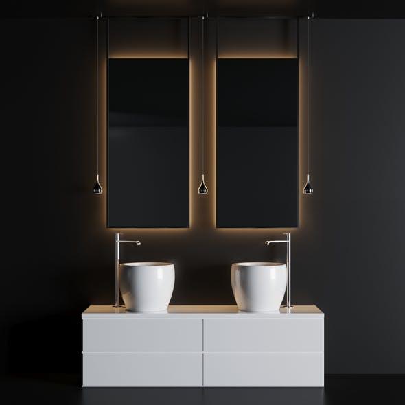 bath set 1 - 3DOcean Item for Sale
