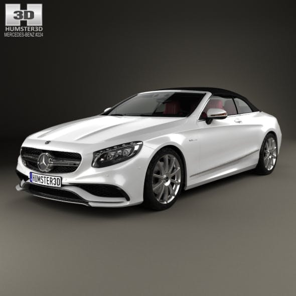 Mercedes-Benz S-class AMG cabriolet 2014 - 3DOcean Item for Sale