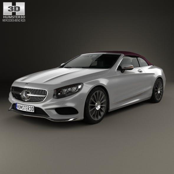 Mercedes-Benz S-class AMG Line cabriolet 2014