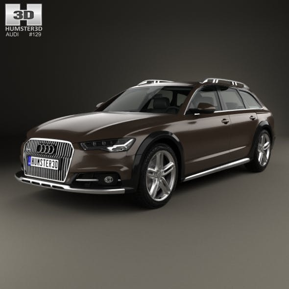 Audi A6 (C7) Allroad 2015 - 3DOcean Item for Sale