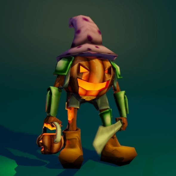 Pumpkin Warrior