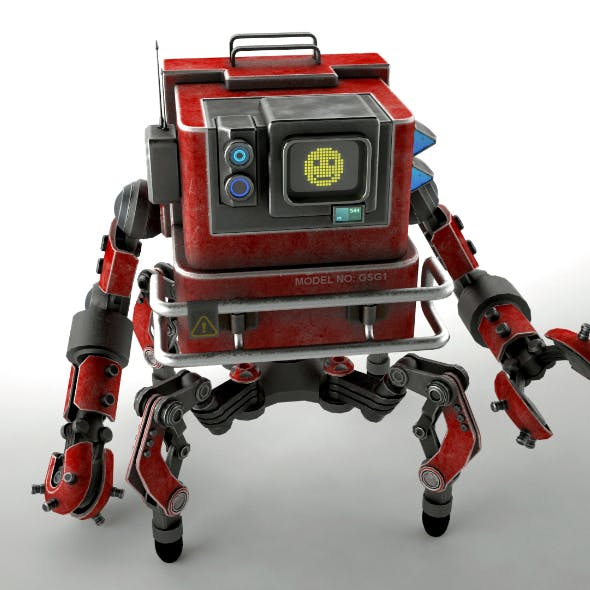 Robot GSG1 - 3DOcean Item for Sale