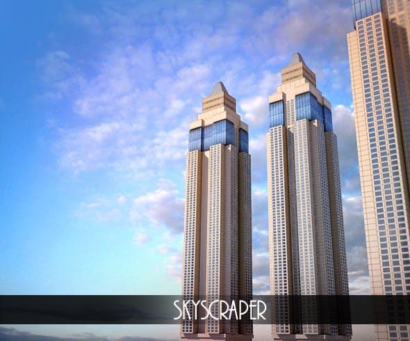 Skyscraper - 3DOcean Item for Sale