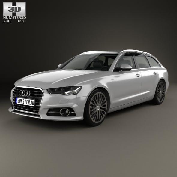 Audi A6 (C7) avant 2015 - 3DOcean Item for Sale