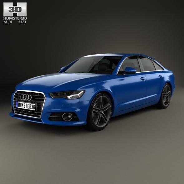 Audi A6 (C7) saloon 2015 - 3DOcean Item for Sale
