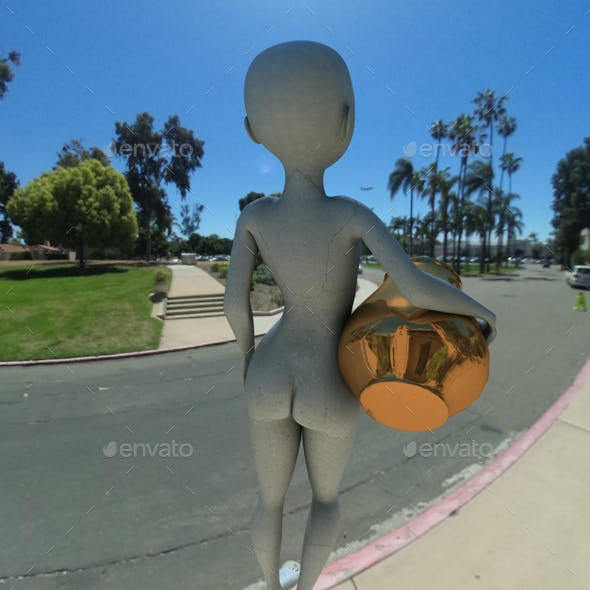 Balboa Park San Diego HDRI