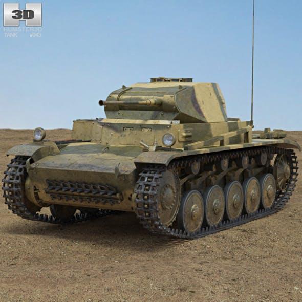 Panzer II - 3DOcean Item for Sale
